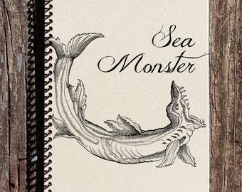 Sea Monster Notebook - Sea Monster Journal - Sea Monster - Monster Journal - Sea Creatures