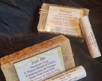 Natural Soap & Lip Balm