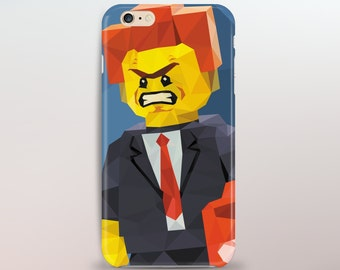 Mens iPhone Cases - Abstract Personalized Design Of President Business Minifig Lego Phone Case Art
