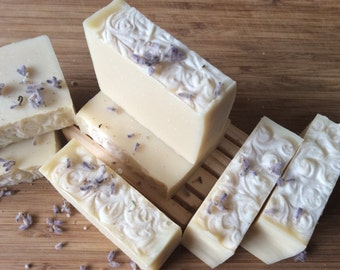 LAVENDER BABY SOAP... 2 Per Package...All natural with therapeutic grade lavender essential oil...vegan, additive free, safe and gentle