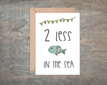 Unique fish theme wedding related items etsy for Fish in the sea dating