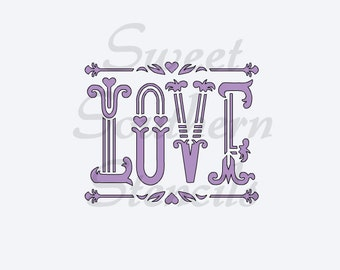 how to adress a letter view by sweetsouthernstencil on etsy 22247