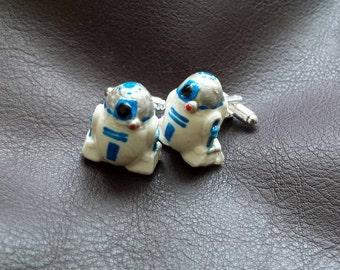 Hand made cufflinks inspired by Star Wars