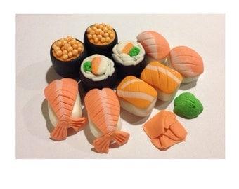 Fondant Sushi Cake Topper