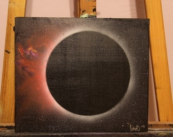 "14""x12"" Red Eclipse 2015"