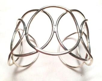 Sliver Tone stylish  bracelet