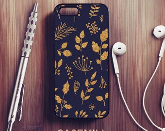 Gold Floral iPhone 6 Case Floral iPhone 6s Case iPhone 6 Plus Case iPhone 6s Plus Case Floral iPhone 5s Case iPhone 5 Case iPhone 5c Case
