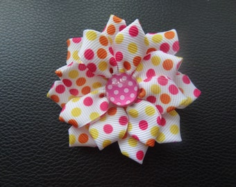 hair accessory,hair bows,ribbon flowers