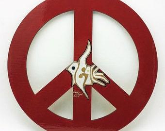 Peace Sign Wall Art