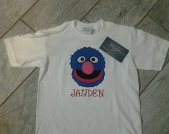 Grover Applique T-Shirt