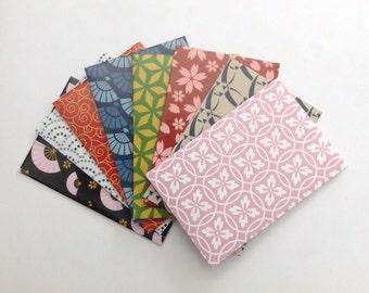 Japanese washi envelopes, snail mail envelope set, japanese stationery, gift idea