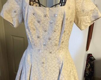 Vintage Champagne Dress by Jonathan Logan, size 13