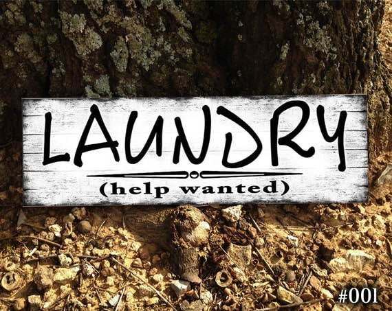 Laundry sign home decor sign laundry room sign funny home - Home decor help photos ...