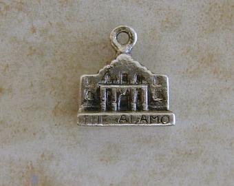 The Alamo San Antonio Texas Souvenir Travel Sterling Silver Bracelet Charm