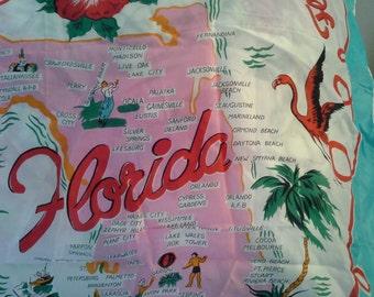Florida Souvenir Scarf