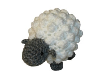 Crochet sheep, crochet lamb