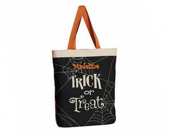 Personalized Halloween Trick or Treat Bag (XL)