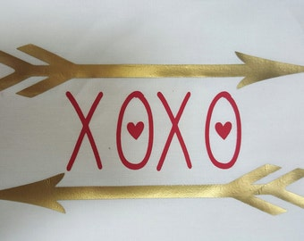 X0X0 Valentines shirt