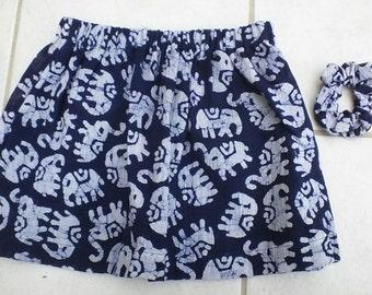 Girls' Elephant Skirt