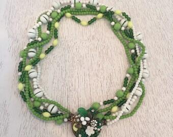1950's Eugene Beaded Necklace