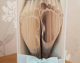 Baby Book Fold, Bookfold, Baby Gift, Baby Boy Folded Book, Baby Book Fold, Baby, Folded Book, Baby Gift, New Baby, Newborn Gift, Baby Girl