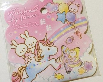 Kawaii Sticker Flakes - Kindness Sky Flavor - Cute Fantasy Design