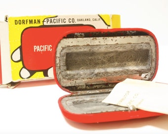 Vintage Dorfman-Pacific Co. Handwarmer with box