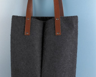 Tas vilt 'Grey' | Felt bag 'Grey'