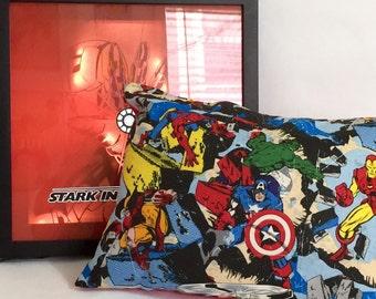 Marvel Cotton Throw Pillow