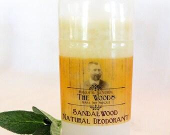 The Woods Sandalwood Deodorant by Summer's Skin