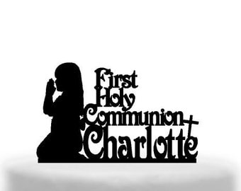 First Holy communion cake topper Melbournes best toppers