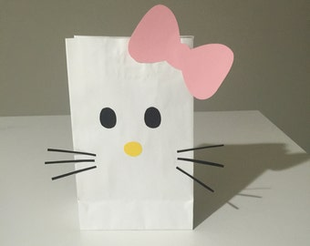 Hello Kitty favor bags set of 12