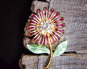 Sunflower Brooch #5472