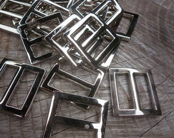 Metal Square Buckles ~ 50 pieces #100449