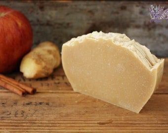 Handmade Apple Cider Soap, all natural, vegan, handcrafted