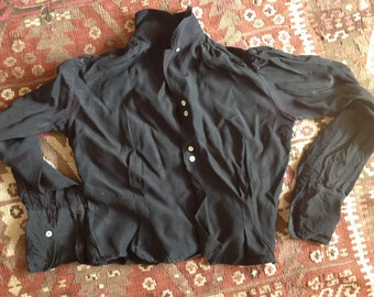 French black shirt