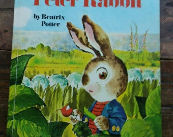 Vintage The Tale of Peter Rabbit 1973