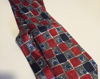 Necktie Gionino mens retro style pattern