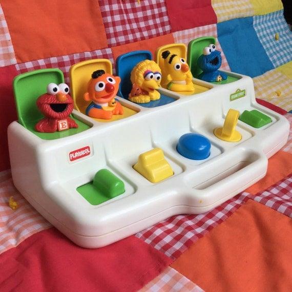 Sesame Street Pop Up Toys 86
