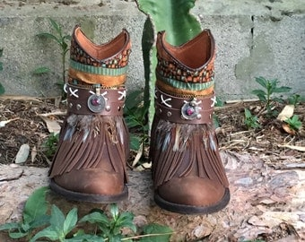 Botines boho Handmade
