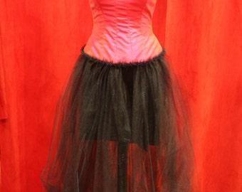 Petticoat in black tulle