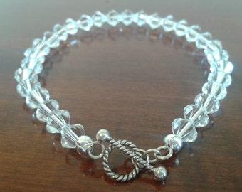 Swarovski Clear Crystal Bracelet