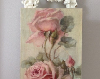 Pink Rose Photo/French Vintage Look