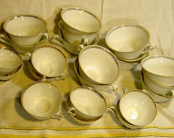 Limoges china cups