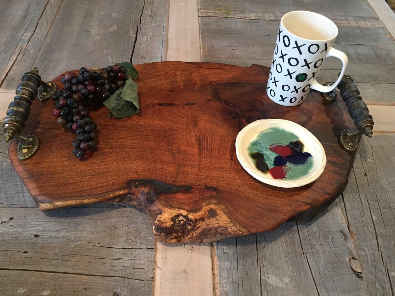 Mesquite Wood Charcuterie Board Cheeseboard Cutting Board