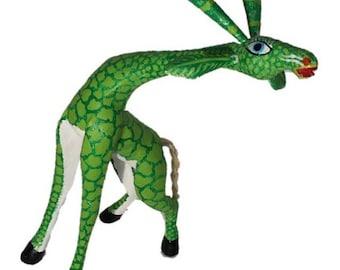 Alebrije Giraffe - by Zeny Fuentes