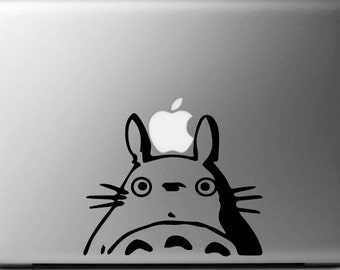 Sticker decal TOTORO, for MAC, Macbook Pro/Air, 11, 13 and 15 inches, My Neighbor Totoro