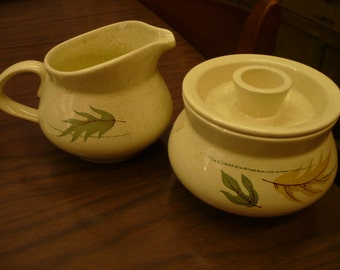 Franciscan Earthenware, 'Autumn', Cream and Sugar