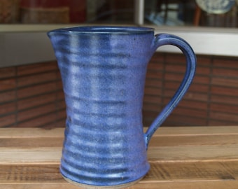 Purple Pitcher, Handmade Pottery by Renwick Price, Brevard NC