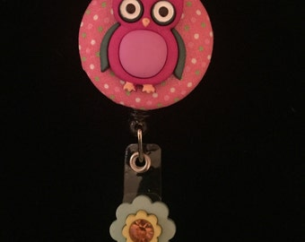 Owl Always Love You-Nurse Retractable ID Badge Reel/ RN Badge Holder/Doctor Badge Reel/Nurse Badge Holder/Nursing Student Gifts